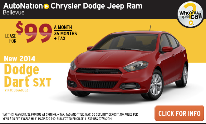 new vehicle specials autonation chrysler dodge jeep ram bellevue. Cars Review. Best American Auto & Cars Review