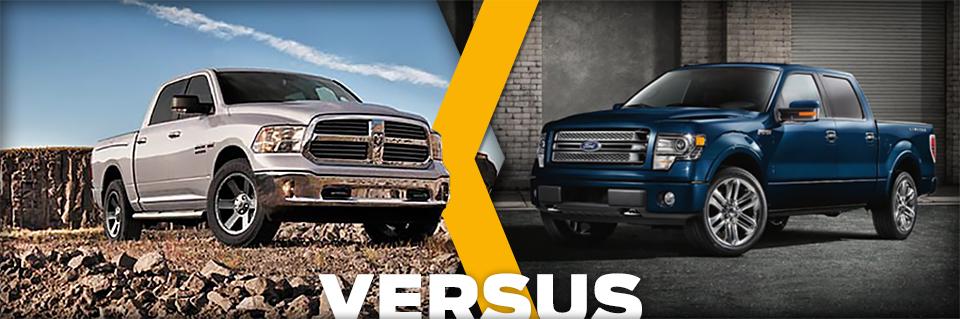 new 2014 dodge ram 1500 vs ford f 150 vehicle comparison autonation chrysler dodge jeep ram spring. Black Bedroom Furniture Sets. Home Design Ideas