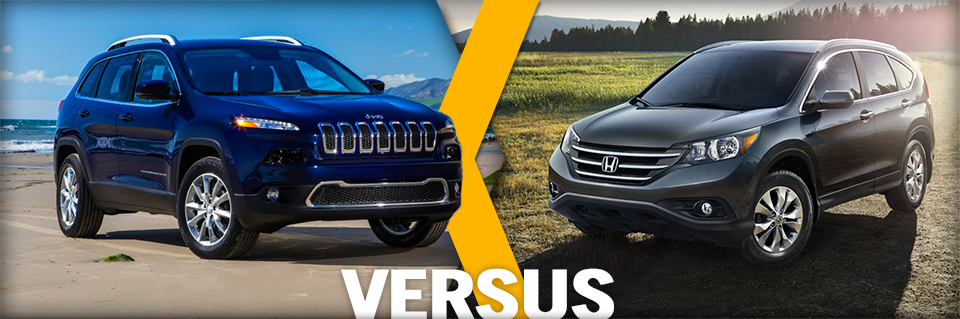2014 Jeep Cherokee vs Honda CR-V Vehicle Comparison ...