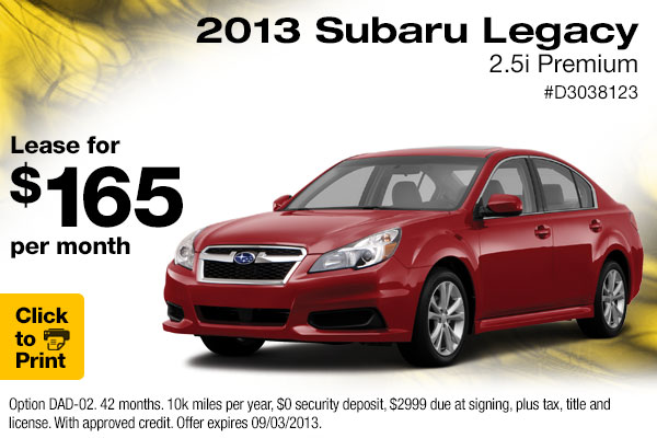 Subaru Dealers Near Me >> New 2015 Subaru Legacy Lease Specials | Englewood, CO Discount Vehicles