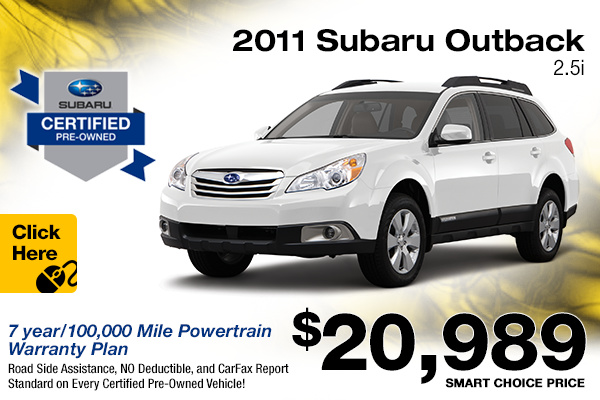 subaru certified pre owned program used vehicle offers englewood co. Black Bedroom Furniture Sets. Home Design Ideas