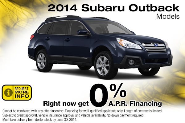 New 2015 subaru outback special payment lease offers for Subaru motors finance online payment