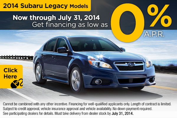 Subaru Finance Specials Golden Co