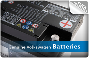 Click For More Information on Genuine Volkswagen Batteries in La Vista, NE