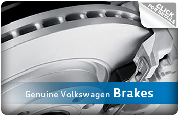 Click For More Information on Genuine Volkswagen Brakes in La Vista, NE