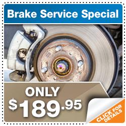 Honda service savings discounts specials brandon car for Honda brake service coupons