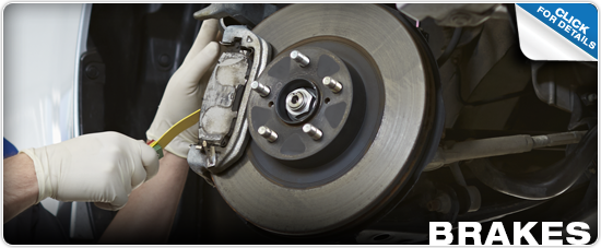 Click for more information on genuine Subaru brakes and brake components available at Byers Airport Subaru in Columbus, OH