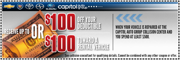 Capitol  Auto Group Deductible Special Salem, OR