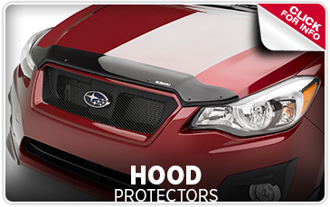 Learn more about genuine Subaru hood protectors in Salem, OR