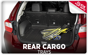 Learn more about genuine Subaru rear cargo trays in Salem, OR
