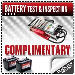 Click for more details on this Toyota service department special - get a free battery test and inspection at Capitol Toyota in Salem, OR