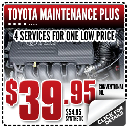 Click to View Our Toyota Maintenance Plus Service Special in Salem, OR