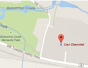 Directions to Carr Chevrolet