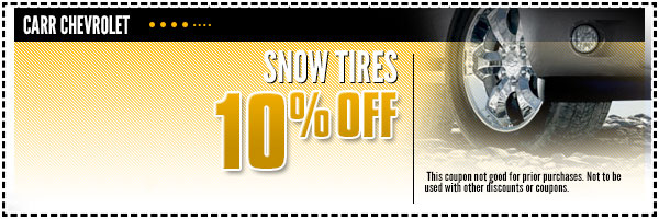 Chevrolet Snow Tires Parts Special Portland, OR