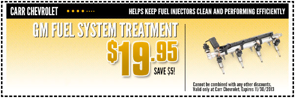 GM Fuel System Treatment Service Special Beaverton, OR