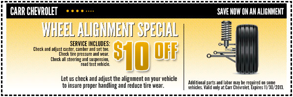 Chevrolet Wheel Alignment Service Special Beaverton, OR