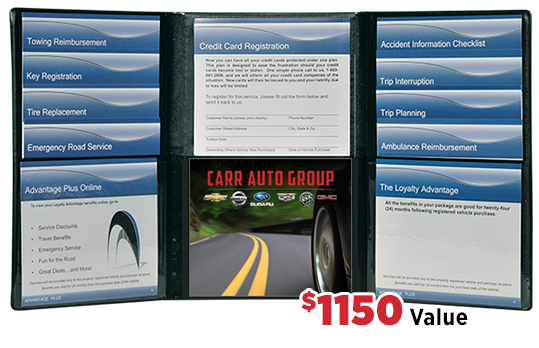 Carr Car Advantage Wallet