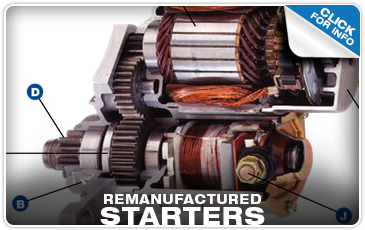 Click to find out more about genuine Subaru remanufactured starters near Portland, OR