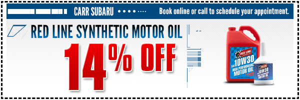 Subaru red line synthetic motor oil special serving for Synthetic motor oil change schedule
