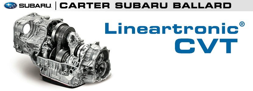 Subaru Lineartronic Continuously Variable Transmission CVT ...