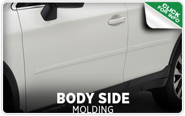 Learn more about Subaru body side moldings from Carter Subaru Ballard in Seattle, WA