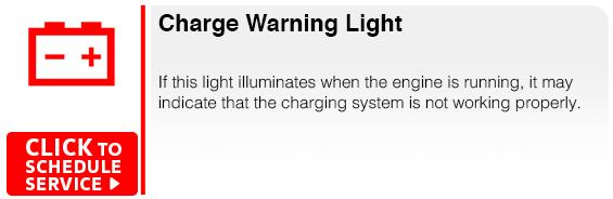 Subaru Charge Warning Light