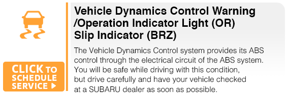 Subaru Vehicle Dynamics Control