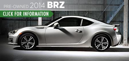 Learn more about the Certified Pre-Owned 2014 Subaru BRZ Carter Subaru Ballard in Seattle, WA