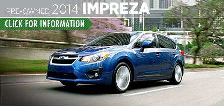 Learn more about the Certified Pre-Owned 2014 Subaru Impreza Carter Subaru Ballard in Seattle, WA
