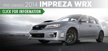 Learn more about the Certified Pre-Owned 2014 Subaru Impreza WRX Carter Subaru Ballard in Seattle, WA