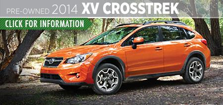 Learn more about the Certified Pre-Owned 2014 Subaru XV Crosstrek Carter Subaru Ballard in Seattle, WA