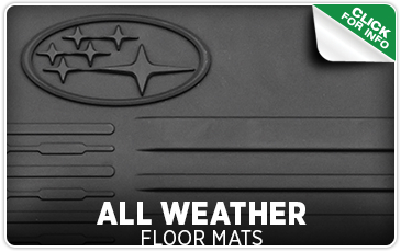 Learn more about Subaru all-weather floor mats from Carter Subaru Shoreline in Seattle, WA