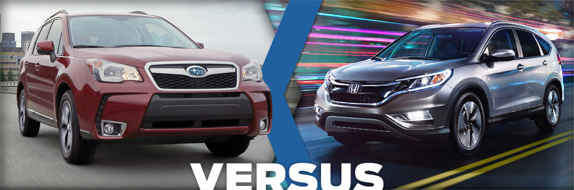 2015 subaru forester vs 2015 honda cr v model comparison for Honda crv vs subaru forester