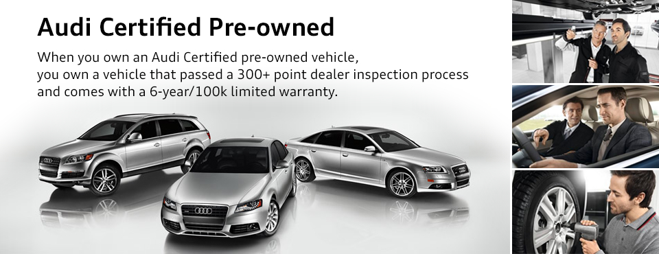 Audi Certified Pre Owned >> Certified Pre Owned Audi Information Continental Audi In