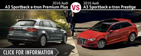 Audi Premium Plus Vs Prestige >> New Audi Sedan Model Comparisons | Naperville. IL