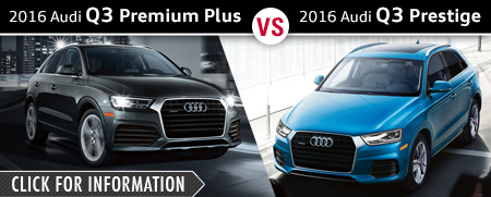 Audi Premium Plus Vs Prestige >> New Audi SUV Model Comparisons | Naperville, IL