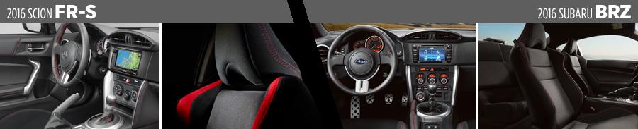 2016 Scion Fr S Vs Subaru Brz Comparison
