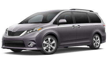 2016 toyota sienna se vs sienna xle model comparison. Black Bedroom Furniture Sets. Home Design Ideas