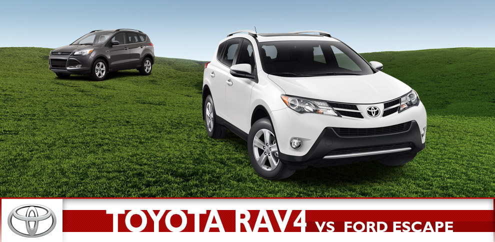 Toyota RAV4 vs Ford Escape Comparison  Wichita Vehicle Sales