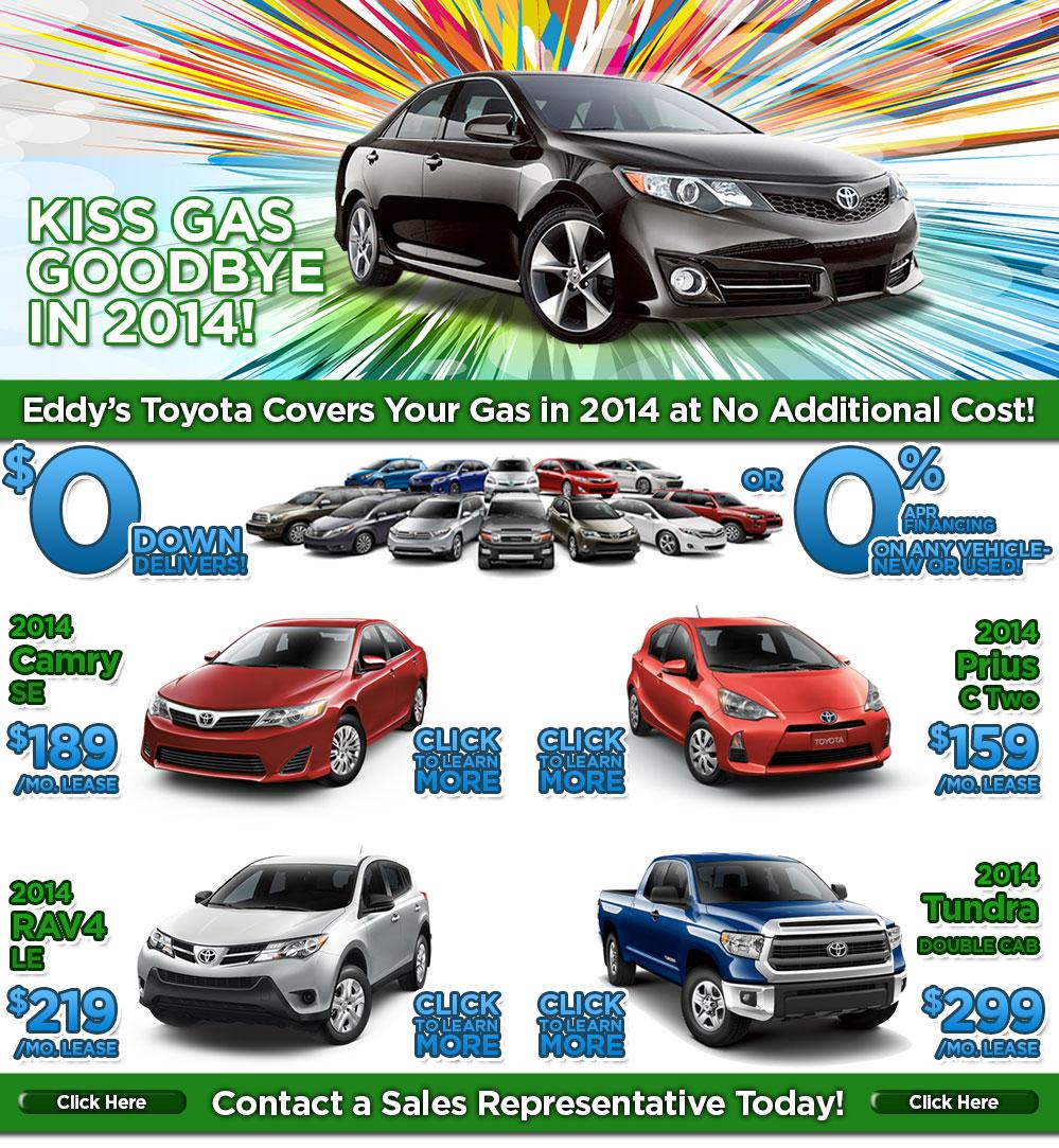 Toyota Event: Wichita Toyota Kiss Your Gas Goodbye Event