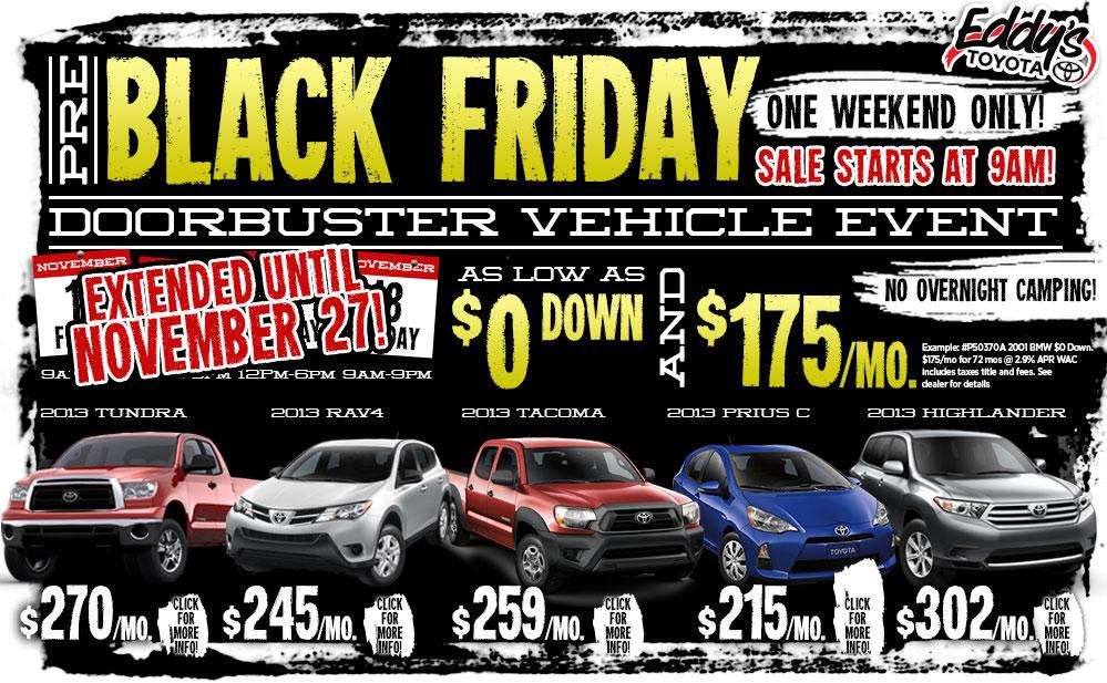 Black Friday Car Deals In Utah