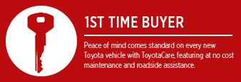 First Time Buyer Financing Options at Eddy's Toyota
