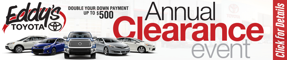Toyota Year End Clearance and Zero Percent Financing Special in Wichita, KS