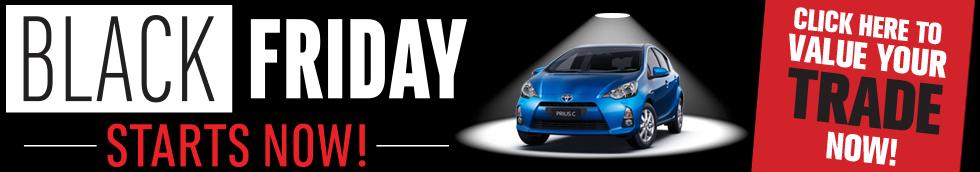 Eddy's Toyota Black Friday Savings Starts Now