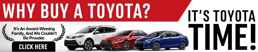 Toyota Time Sales Event in Wichita, KS