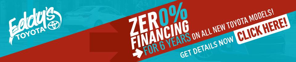 Toyota Zero Percent Financing Special in Wichita, KS