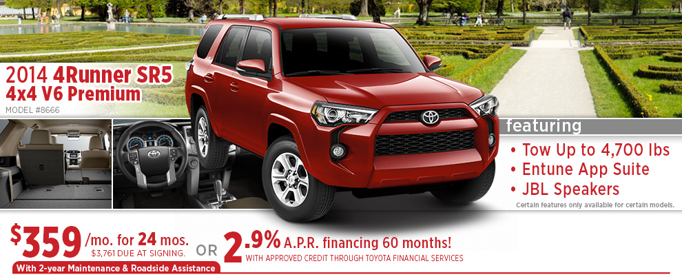 new toyota 4runner special offers 2015 wichita car purchase lease deals. Black Bedroom Furniture Sets. Home Design Ideas