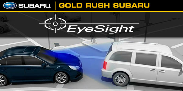 subaru eyesight safety system driver assistance technology sacramento ca. Black Bedroom Furniture Sets. Home Design Ideas