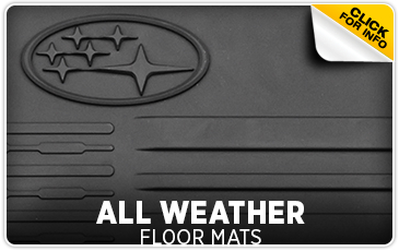 Click for more information on genuine Subaru all-weather floor mats available at Gold Rush Subaru in Auburn, CA