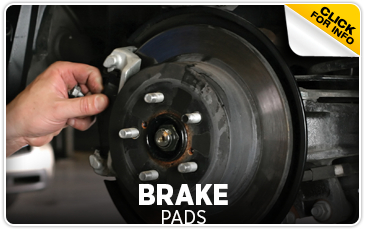 Click for more information on genuine Subaru brake pads available at Gold Rush Subaru in Auburn, CA